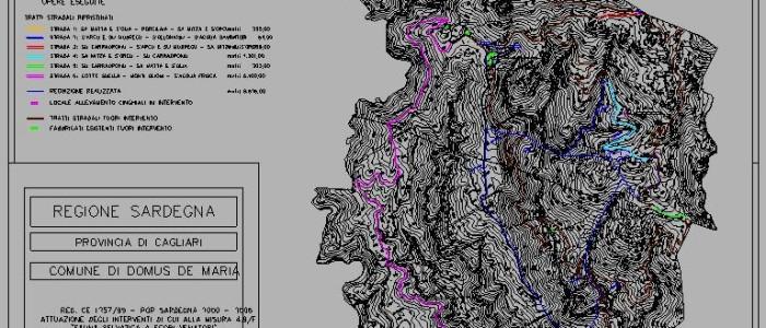 Anni 2006 - 2009, progetto per l'ammissione ai finanziamenti del P.O.R. Sardegna