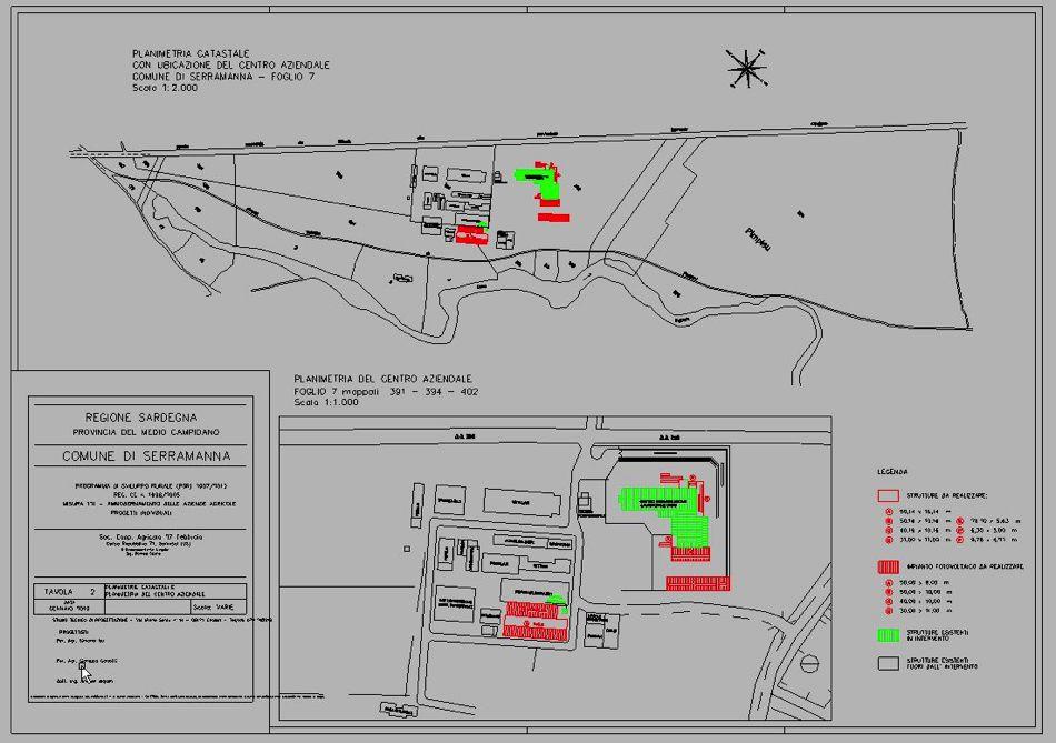 Anno 2010, progetto di adeguamento di un centro di macellazione